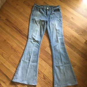 Flare leg jeans